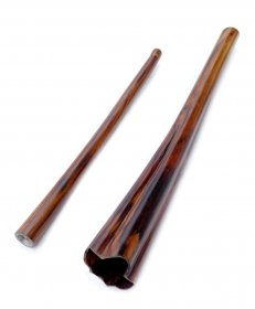 2 part meditation didgeridoo from Palisander wood – B