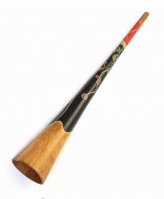 Didgeridoo from birch 148 cm – G